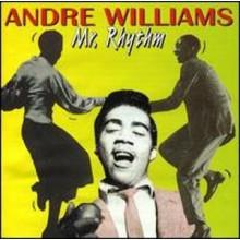"""ANDRE WILLIAMS """"MR.RHYTHM"""" CD"""