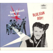 "GENE VINCENT & THE BLUE CAPS ""BLUEJEAN BOP"" cd"