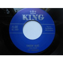 "TINY BRADSHAW ""THE TRAIN KEPT A ROLLING/Knocking Blues"" 7"""