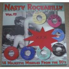 NASTY ROCKABILLY Volume 19 LP