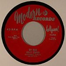 "Dolly Cooper & Maxwell Davis & His Orch ""My Man / Ay La Bah"" 7"""