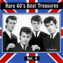 RARE 60'S BEAT TREASURES Volume FOUR cd