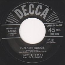 "WAYMON BROWN ""BAREFOOT SUSIE"" / JOEY THOMAS ""CHEROKEE BOOGIE"" 7"""