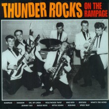 "THUNDER ROCKS ""ON THE RAMPAGE"" LP"