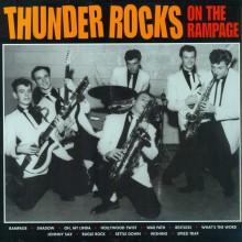 "THUNDER ROCKS ""ON THE RAMPAGE"" LP"