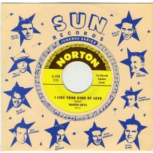 "Warren Smith/Mack Vickery ‎""I Like Your Kind Of Love/Fool Proof"" 7"""