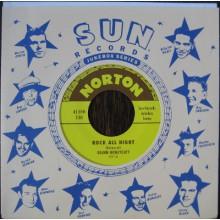 """Glenn Honeycutt/Jimmy Wages """"Rock All Night/Miss Pearl"""" 7"""""""