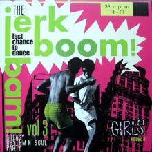 """JERK BOOM! BAM! """"Volume 3"""" LP"""