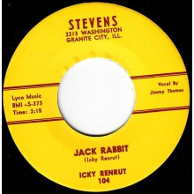 "ICKY RENRUT ""JACK RABBIT/ IN YOUR EYES BABY"" 7"""