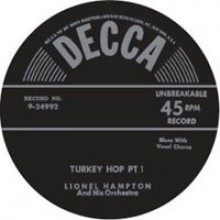 "LIONEL HAMPTON ""TURKEY HOP Parts 1 & 2"" 7"""