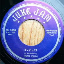 "JEWEL KING ""3x7=21 / I'LL GET IT"" 7"""