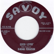 "H BOMB FERGUSON ""BOOKIES BLUES"" 7"""