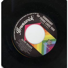 "Jackie Wilson ""Somebody Up There Likes You/ A Lovely Way To Die"" 7"""