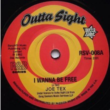 "JOE TEX ""I Wanna Be Free/ / Old Time Lover"" 7"""