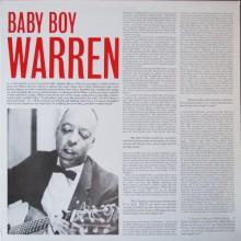 "BABY BOY WARREN ""S/T"" LP"