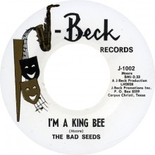 "BAD SEEDS ""I'M A KING BEE / A TASTE OF THE SAME"" 7"""