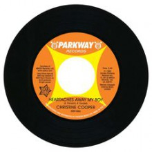 "Christine Cooper ""Heartaches Away My Boy/ S.O.S. (Heart In Distress)"" 7"""