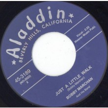 "BOBBY MARCHAN ""JUST A LITTLE WALK / HAVE MERCY"" 7"""
