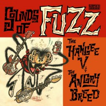 "HANGEE V / ANGRY BREED ""Sounds of Fuzz"" 7"""