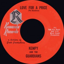 "Kempy And The Guardians ""Love For A Price/ Love For A Price (slow version) 7"""