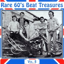 RARE 60S BEAT TREASURES VOLUME 8 CD