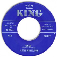 "LITTLE WILLIE JOHN ""FEVER / UH UH BABY"" 7"""