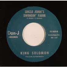 "BOBBY JACKSON / KING SOLOMON ""OH BABY"" 7"""