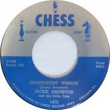 "JACKIE BRENSTON ""INDEPENDENT WOMAN / JUICED"" 7"""