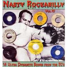 NASTY ROCKABILLY Volume 10 LP
