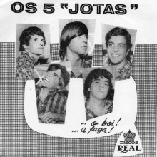 """OS 5 JOTAS / RONALDO SOARESO """"Boi / Véspera Da Destruição"""" 7"""""""