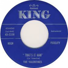 "VALENTINES ""THAT'S IT MAN/PLEASE DONT LEAVE PLEASE DON'T GO"" 7"""
