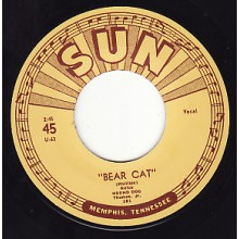 "RUFUS THOMAS ""BEAR CAT/ WALKIN IN THE RAIN"" 7"""