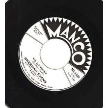 "SHERMAN EVANS ""I DON'T CARE/ YO YO TWIST"" 7"""