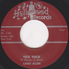 "Chris Allen ""Tick Tock / Lonely"" 7"""