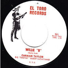 "CAROLYN MONTGOMERY ""STOP THAT STUFF"" / CARMEN TAYLOR ""WILLE B"" 7"""