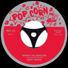"BOBBY MARTIN ""Minnie the Moocher"" / BOBBY DARIN ""Minnie the Moocher"" 7"""