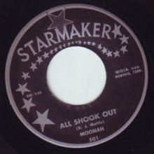 "MOOHAH ""ALL SHOOK OUT/CANDY"" 7"""