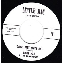 "LITTLE MAC ""DANCE BABY/CINDERELLA"" 7"""