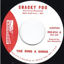 "RING A DINGS ""SNACKY POO PTS 1 & 2"" 7"""