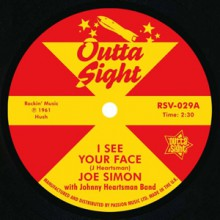 "JOE SIMON ""I See Your Face"" / LEON PETERSON ""Searching"" 7"""