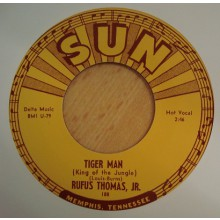 "RUFUS THOMAS ""TIGER MAN / SAVE THAT MONEY"" 7"""