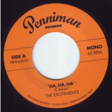 "EXCITEMENTS ""Ha Ha Ha / I Need You Baby"" 7"""