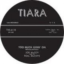 "Joe McCoy & His Real McCoys ‎""Hey Hey Loretta/Too Much Goin' On"" 7"""
