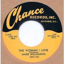 "JAMES WILLIAMSON ""THE WOMAN I LOVE/HOMESICK"" 7"""