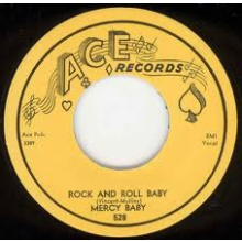 "MERCY BABY ""ROCK AND ROLL BABY/MARKED DECK"" 7"""