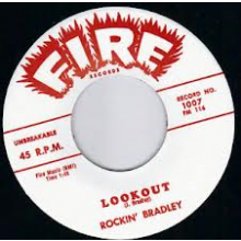 "ROCKIN' BRADLEY ""LOOKOUT/I HAVE NEWS FOR YOU"" 7"""
