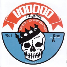 VOODOO RHYTHM COMPILATION Volume 4 CD