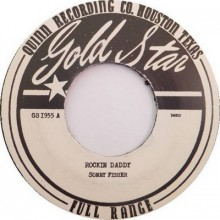 "SONNY FISHER ""Rockin' Daddy (Demo version) b/w Hold Me Baby (Demo Version)"" 7"""