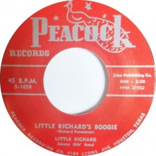 "LITTLE RICHARD ""LITTLE RICHARDS BOOGIE/ DIRECTLY FROM MY HEART TO YOU"" repro 7"""