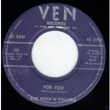 "Rock'N'Rollers ""For You/Boy! I Think It's Really Love"" 7"""